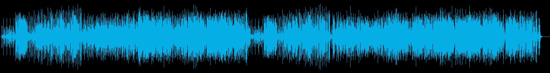 華麗でリズミカルなラテン系ポップスの再生済みの波形