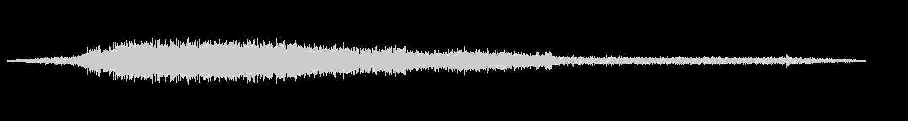 イメージ スクリーミングウォーター02の未再生の波形