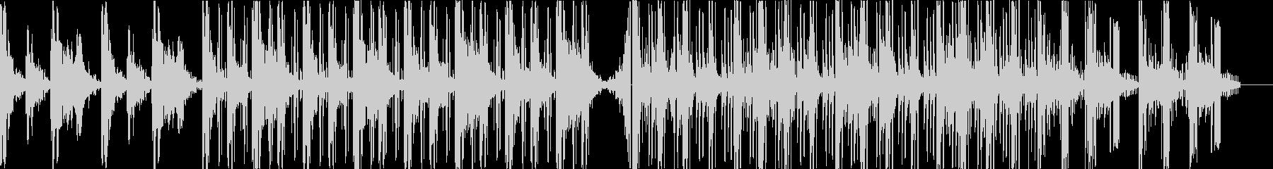 レトロな雰囲気向きLo-fiHipHopの未再生の波形
