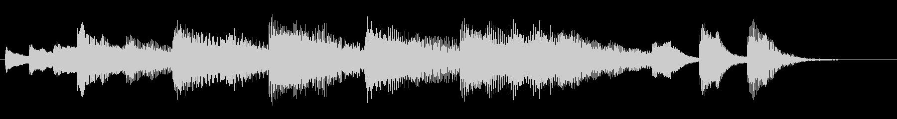 ペット・キッズ動画のエンディングカードの未再生の波形