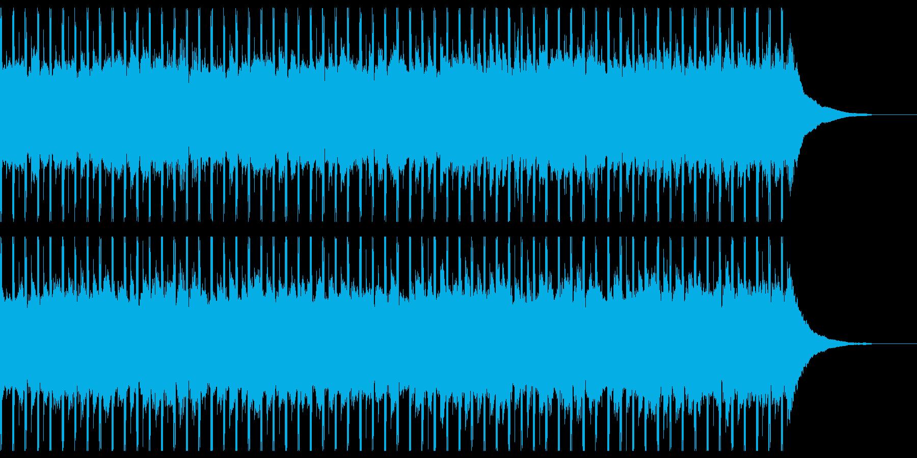 楽観(30秒)の再生済みの波形