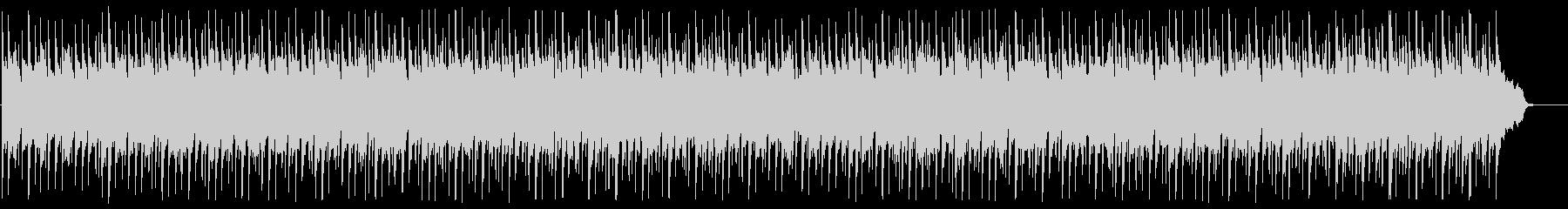 落ち着いたリラクゼーションミュージックの未再生の波形