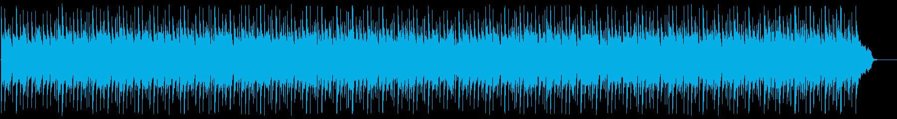 落ち着いたリラクゼーションミュージックの再生済みの波形