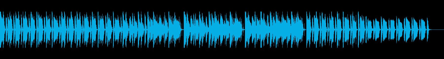 エレピとシンセ スタイリッシュ 映像向けの再生済みの波形