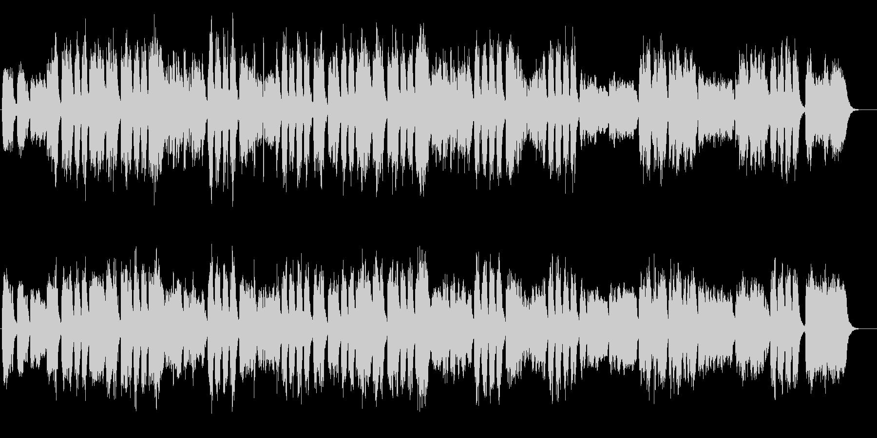 ハレルヤ合唱 パイプオルガンクラシックの未再生の波形