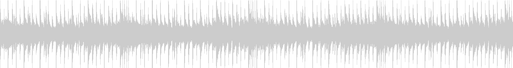チャイニーズな雰囲気のBGMの未再生の波形