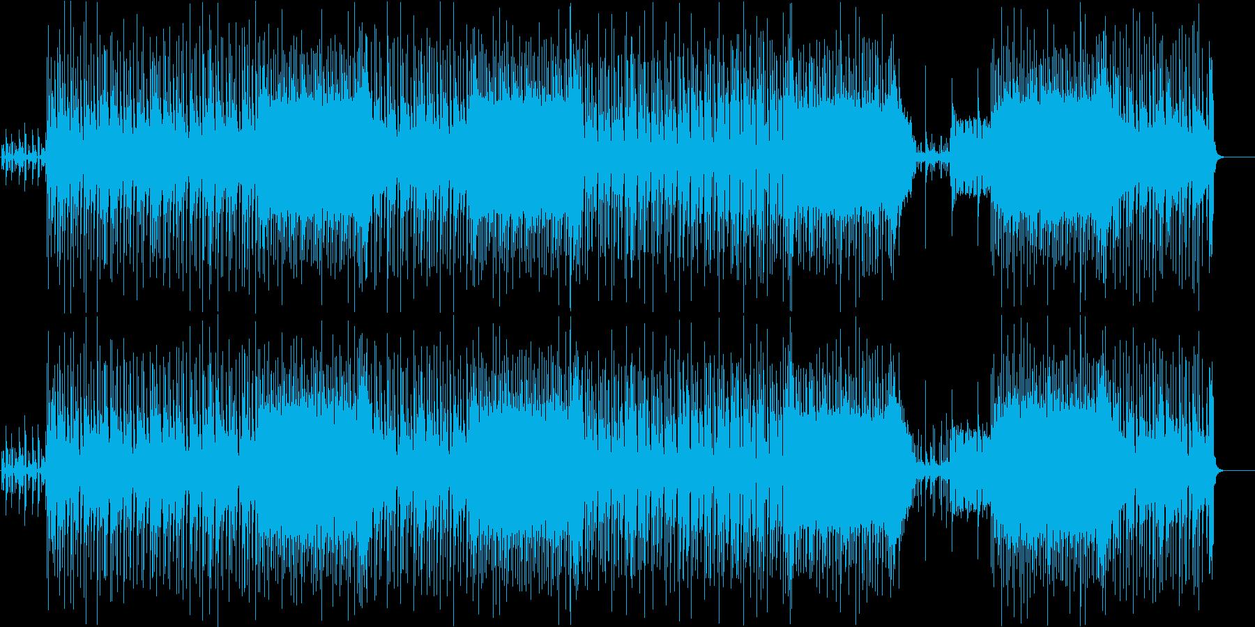 リゾートファンクの再生済みの波形