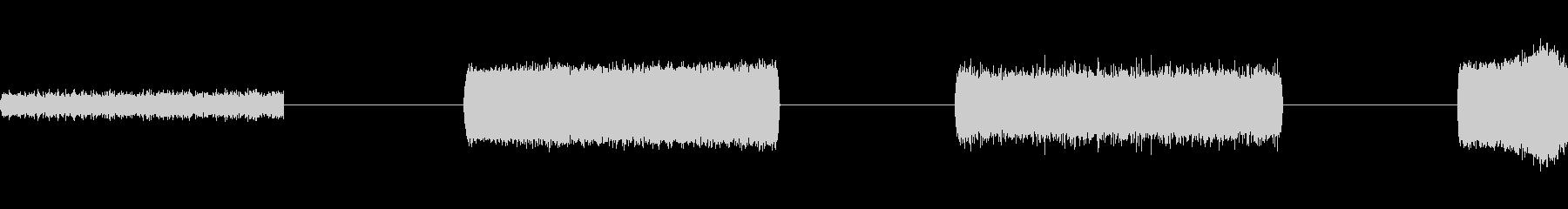 ハイブザーズハム、4テイク、電気、...の未再生の波形