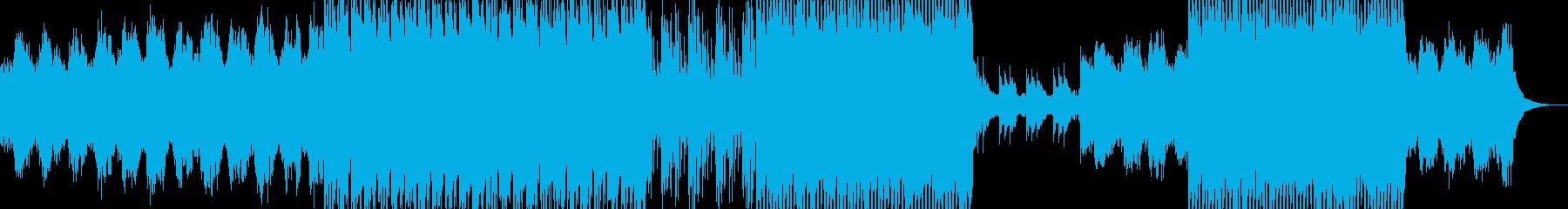 ヒーリング系ヒップホップの再生済みの波形