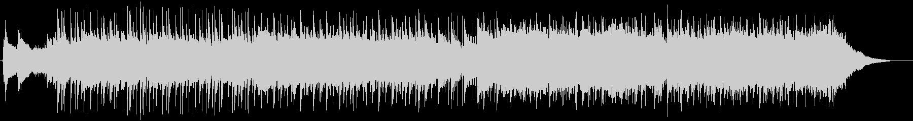 企業VPやCM用ポップでコミカルな曲の未再生の波形
