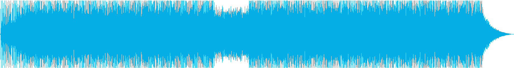 Cool and exhilarating opening's reproduced waveform