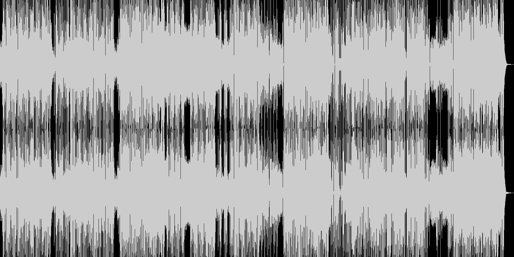 アダルティなダンストラックの未再生の波形