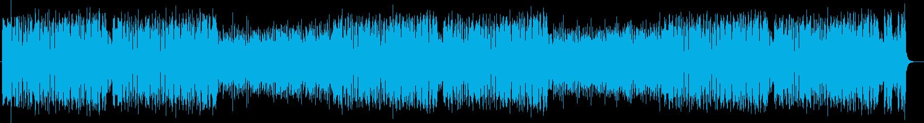 ポップで軽快なピアノポップスの再生済みの波形
