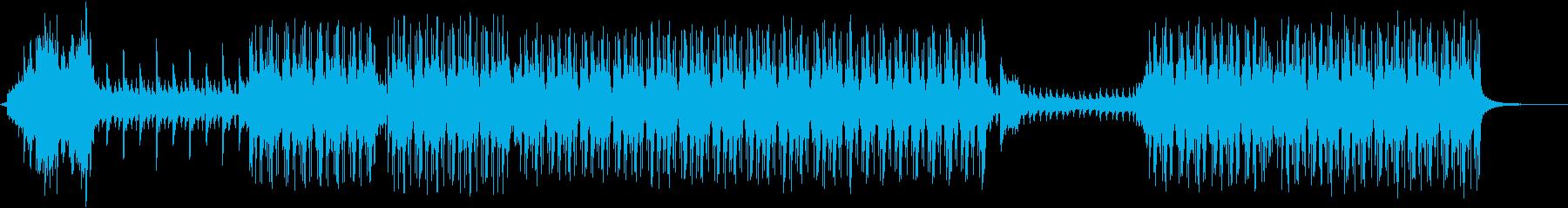 広大な大魔王の城の再生済みの波形