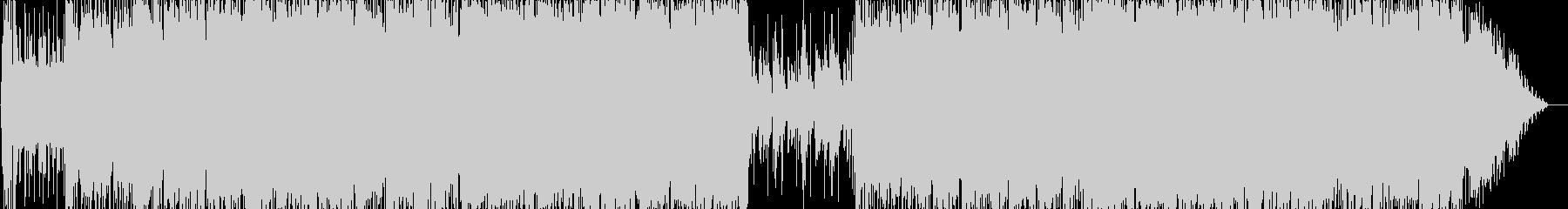 爽やか青空なイメージのギターインストの未再生の波形