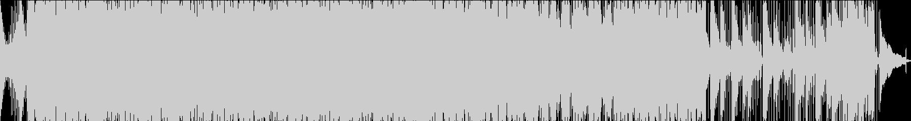 爽やかでゆったりとしたロックの未再生の波形
