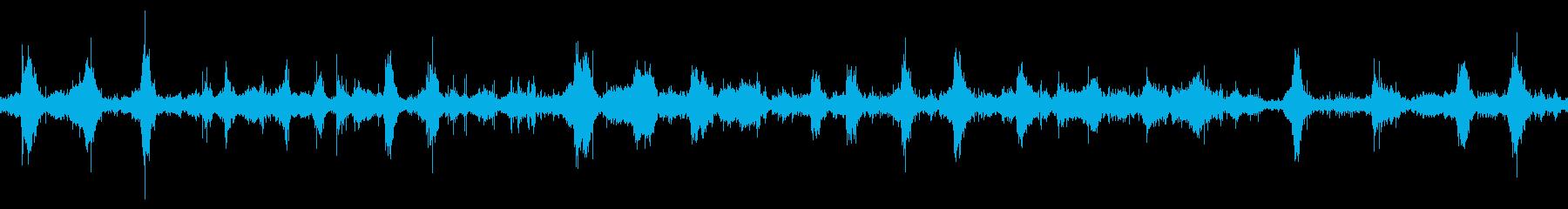 【四国最東端】蒲生田岬の波音05 ループの再生済みの波形