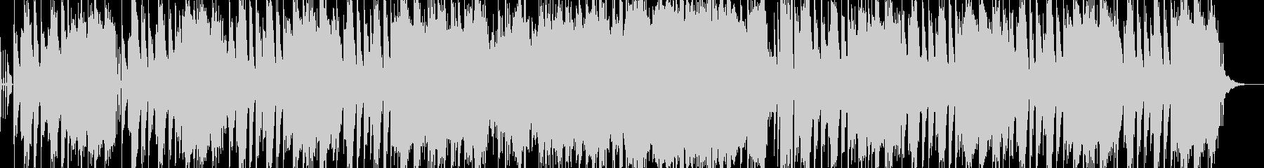 ほのぼのしたシンセサウンドの未再生の波形
