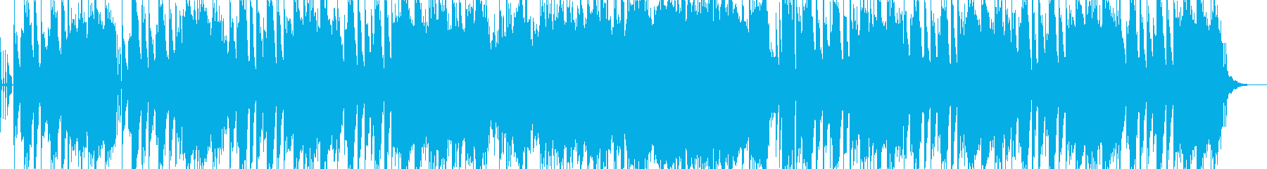 ほのぼのしたシンセサウンドの再生済みの波形