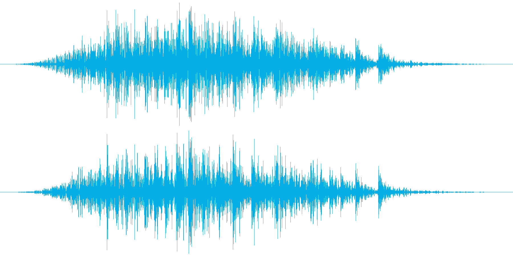 軋む(床など) ギィヴッの再生済みの波形