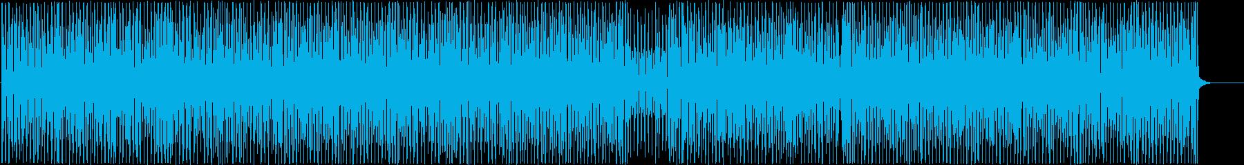 三味線がかっこいい4つ打ち和風ダンスの再生済みの波形