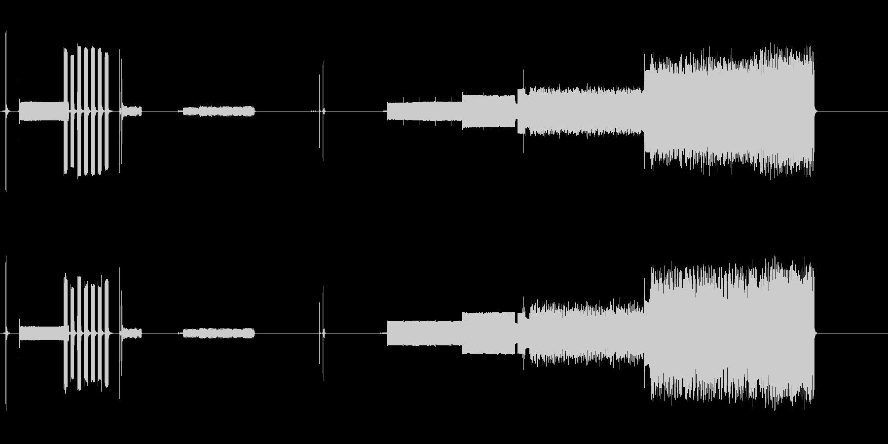 モデム接続。 28、800 Bps...の未再生の波形