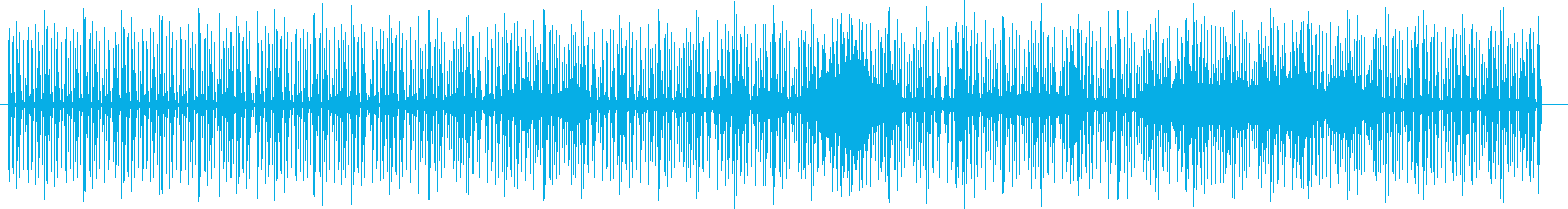 リズミカルなテクノポップの再生済みの波形
