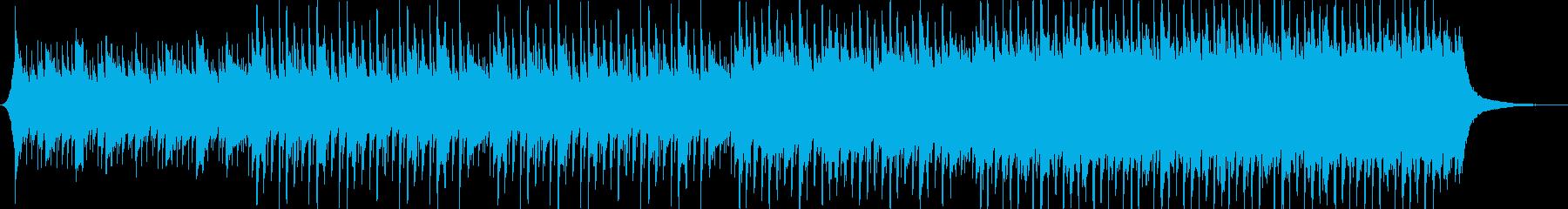 企業VP系113、爽やかギター4つ打ちbの再生済みの波形