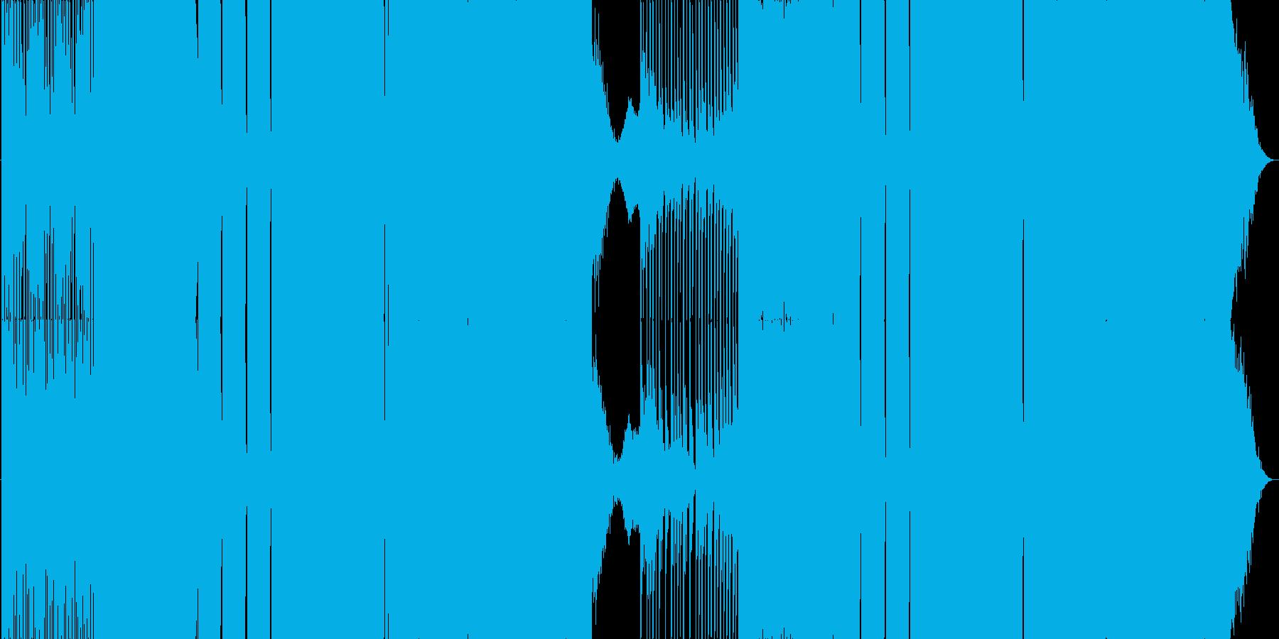 王道EDMの再生済みの波形