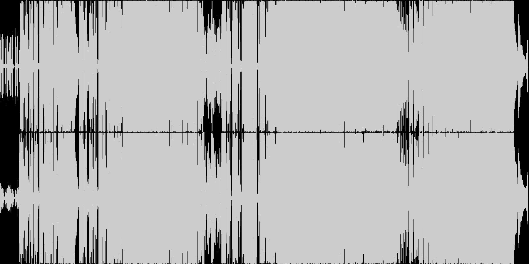 前向きな曲ですの未再生の波形