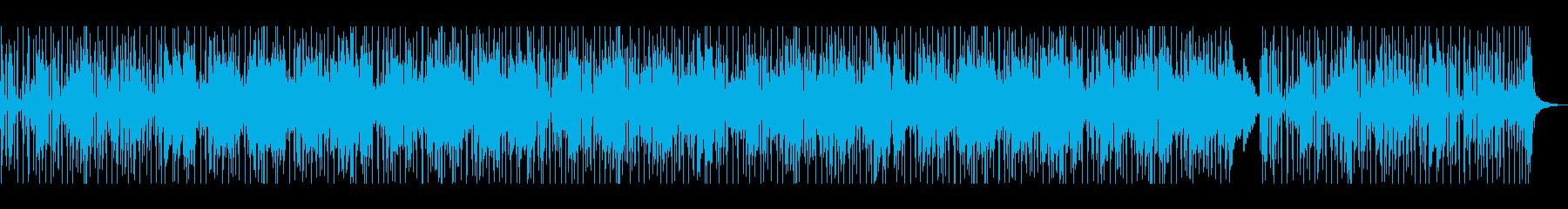 神秘的な雰囲気のメロディーが印象的な楽曲の再生済みの波形