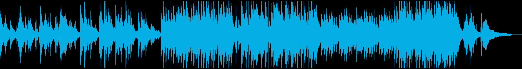 感動シーン優しく包むようなピアノバラードの再生済みの波形