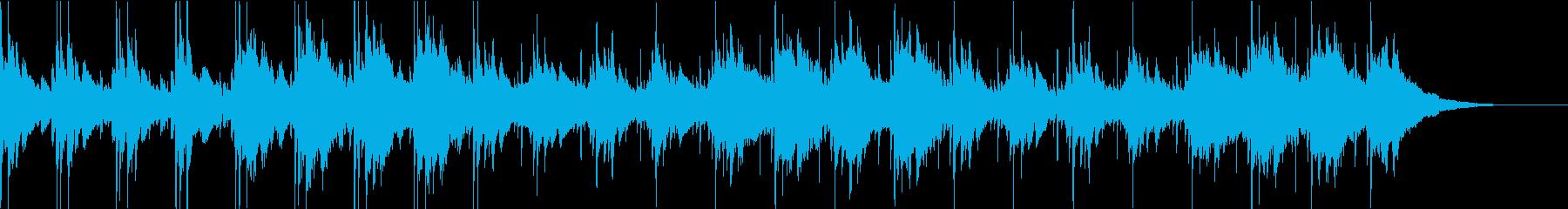 Pf「一歩」和風現代ジャズの再生済みの波形