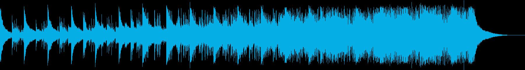 潜入のシーン/緊迫感/エレクトロの再生済みの波形