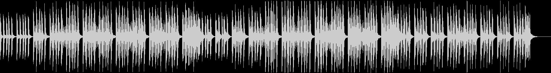 かわいくてセンチメンタルなミニマルソングの未再生の波形