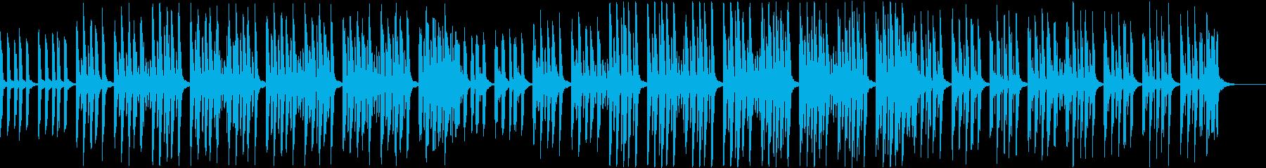 かわいくてセンチメンタルなミニマルソングの再生済みの波形
