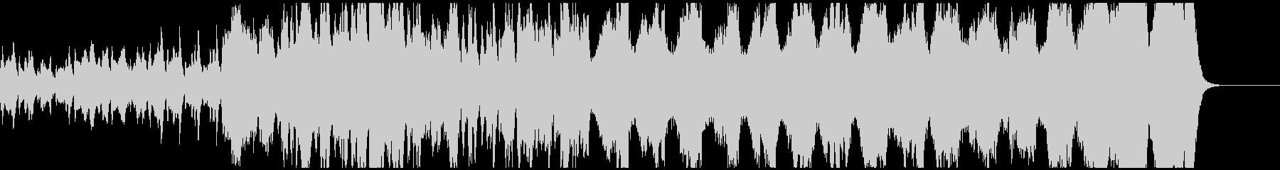 明るい弦楽四重奏の未再生の波形