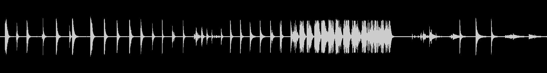 ベルテンプルリングアウト複数の未再生の波形