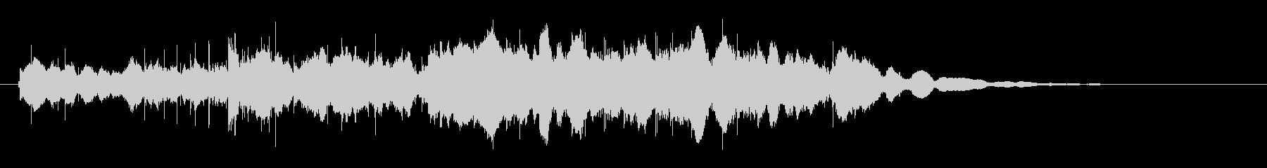 素材 グロッケンシュピールダークト...の未再生の波形