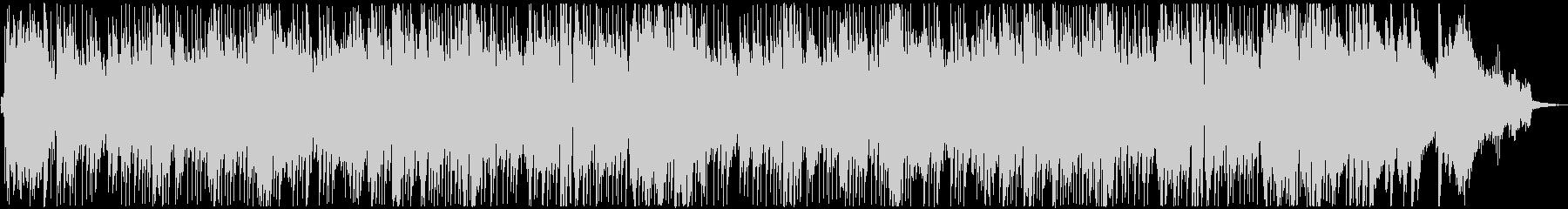 和風な三味線のジャズ風ジングルベルの未再生の波形