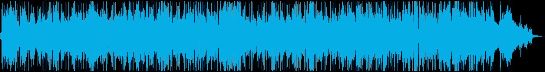 和風な三味線のジャズ風ジングルベルの再生済みの波形