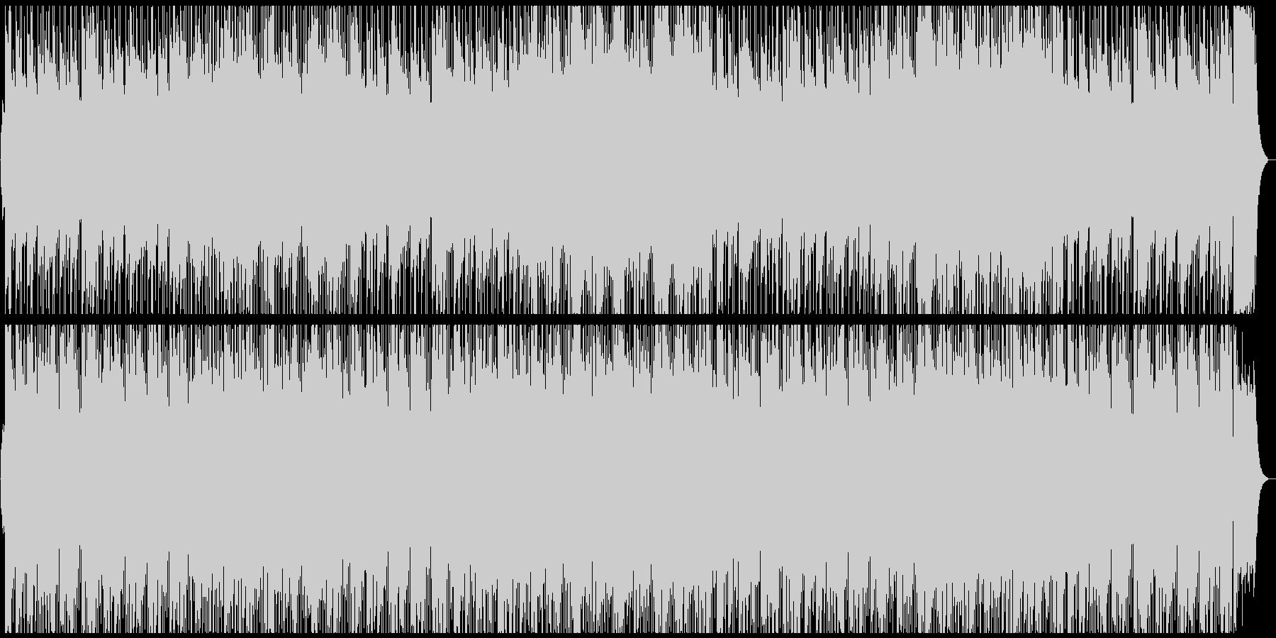 フルートがメロを奏でるインストの未再生の波形