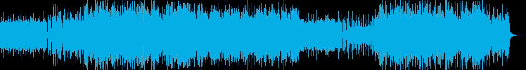 スムーズジャズ。アメリカ西海岸の音...の再生済みの波形