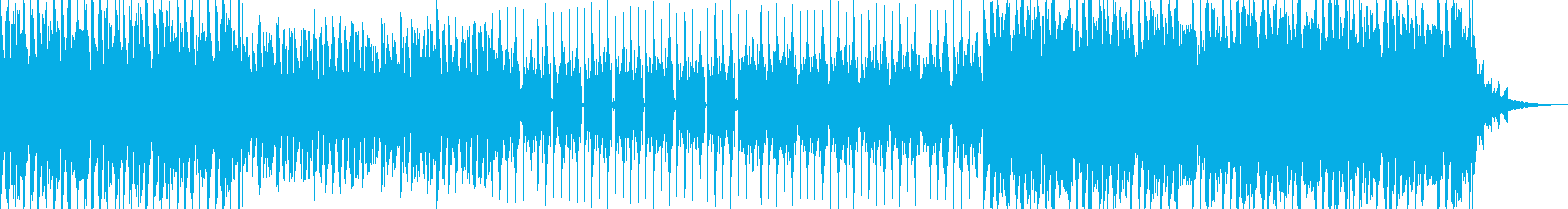 【ジングル】おしゃれな映像になる曲の再生済みの波形