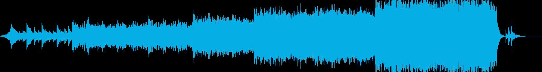現代の交響曲 前衛交響曲 広い 壮...の再生済みの波形