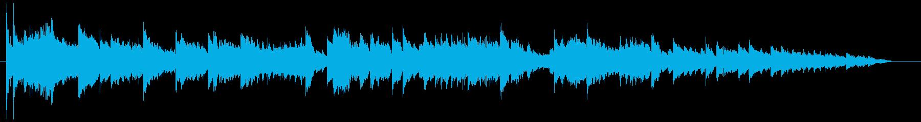 オルゴールとおもちゃの世界的サウンドの再生済みの波形