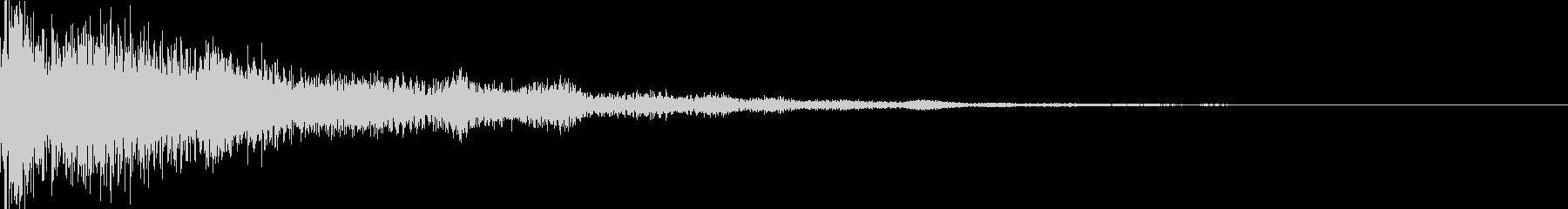 パァカーン(決定_06)の未再生の波形
