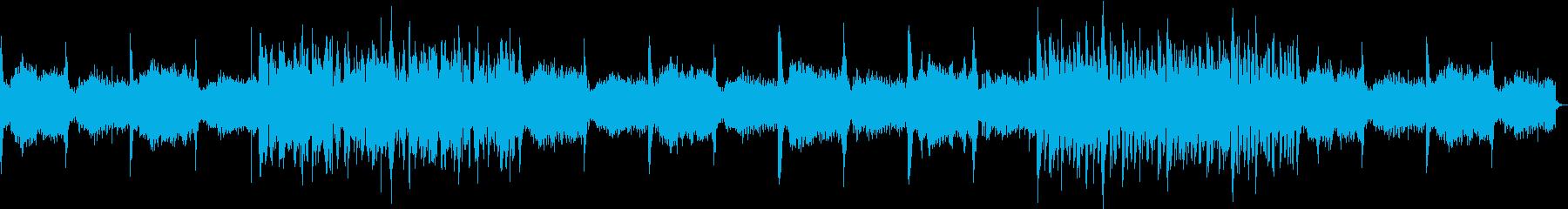 幻想的なエンディングの再生済みの波形