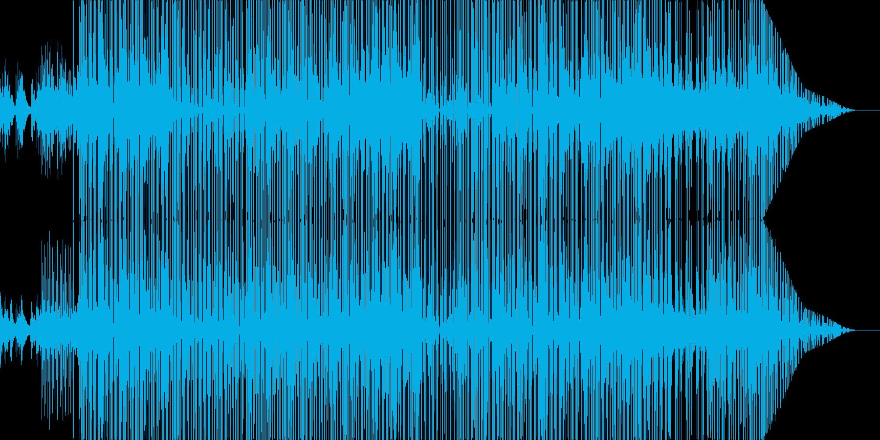 BoomBap系HipHop Beatsの再生済みの波形