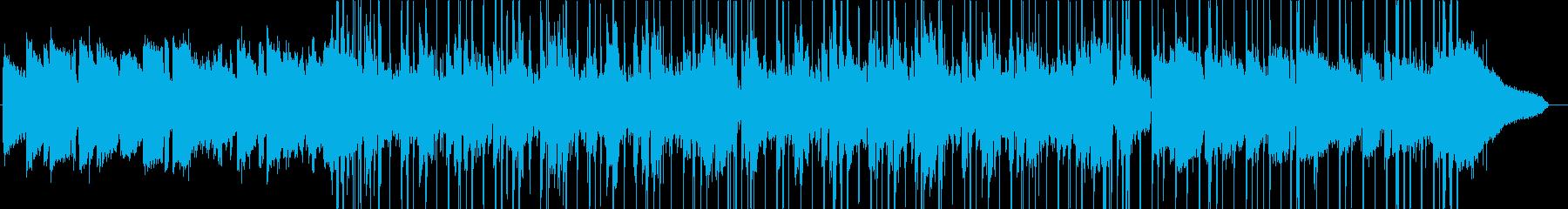 都会的なアシッドジャズ/ヒップホップの再生済みの波形